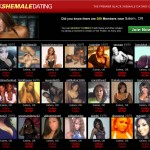 Find Beautiful Ebony Shemales